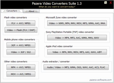 Pazera Video Converters